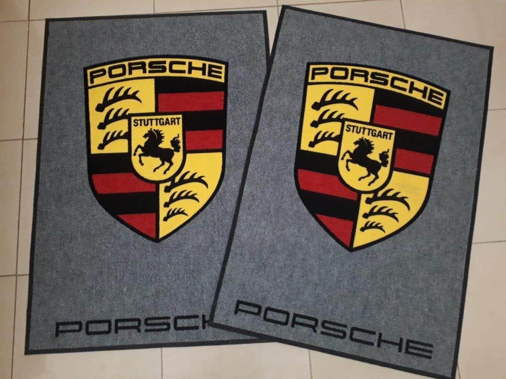 Porsche Mat